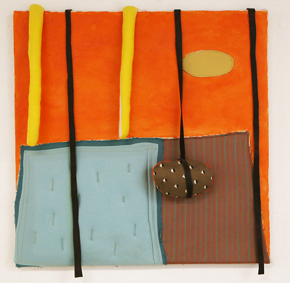 Composition with balls by Cecile Noldus