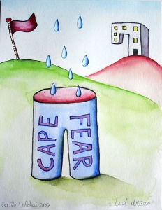 cape fear, drawing by Cecile Noldus