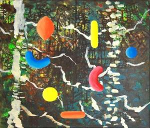 Fractile Forest by cecile Noldus