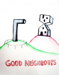 good neighbours by Cecile Noldus