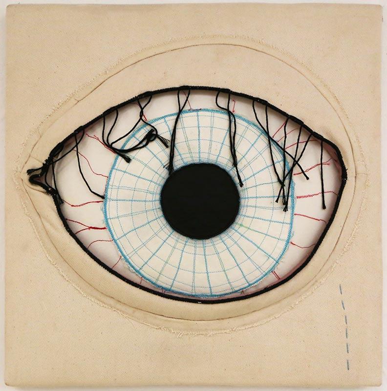 l´occhio è un specchio by Cecile Noldus