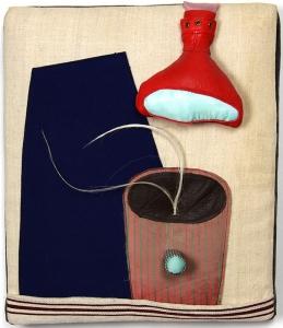 textile art by Cecile Noldus