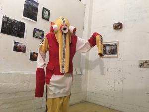 Textile costume, Cecile Noldus 2017
